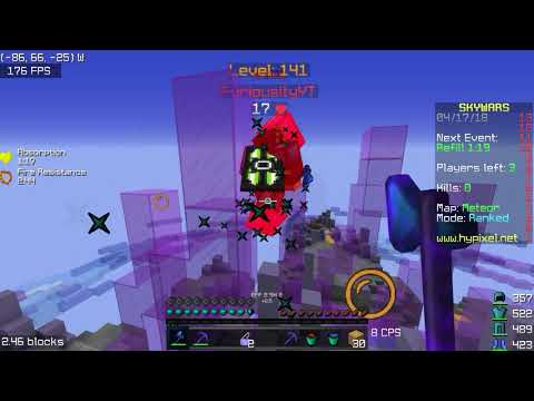 1 Hour Of Hypixel Ranked Skywars - How I Get Masters/Diamond Division
