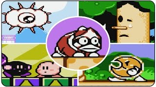 Kirby's Adventure - All Bosses