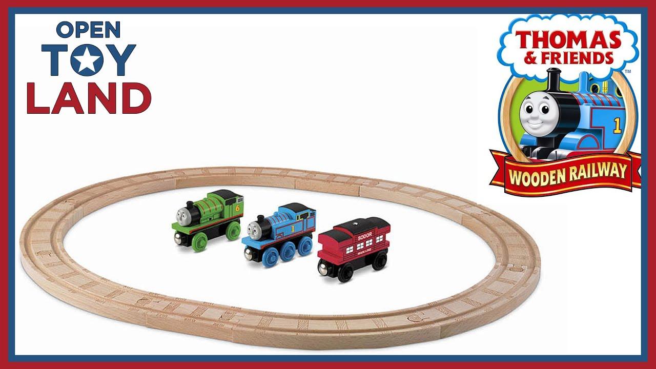 Thomas & Friends Wooden Railway Starter Set - YouTube