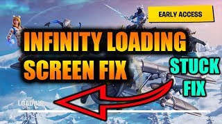 Fortnite Season 8 Freeze Loading Screen Fix And Infinity Loading Fix