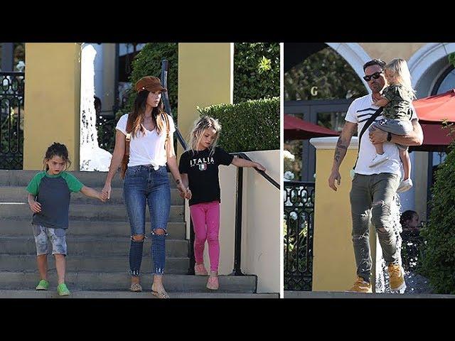 Megan Fox And Brian Austin Green Are Just Regular (HOT) Parents!