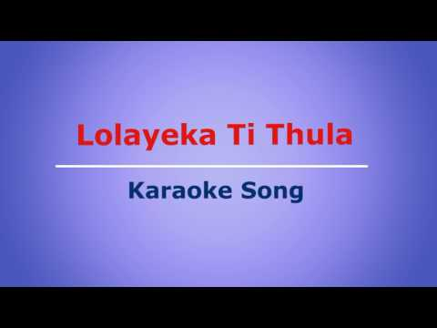 Nepali Karaoke Song || Lolayeka Ti Thula || Gulam Ali || Lyrics Below