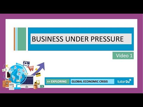 Global Economic Crisis 2020 - Business under Pressure | Head Start in A-Level Economics