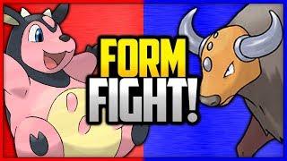 Miltank vs Tauros | Pokémon Form Fight
