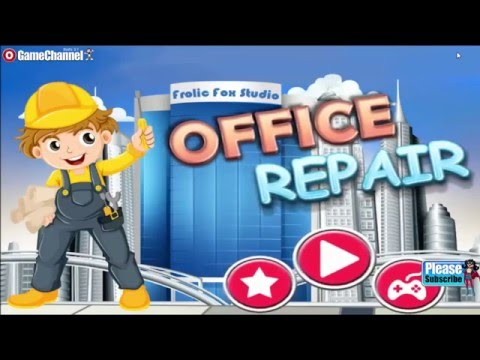 "Office Repair Builder game ""Casual Games"" Android Gameplay Video"