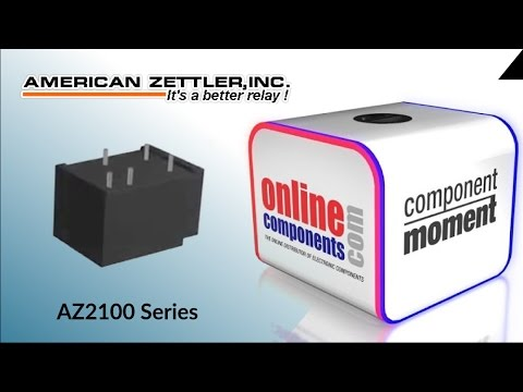 Component Moment: American Zettler 40A and 50A Miniature Power Relay - AZ2100