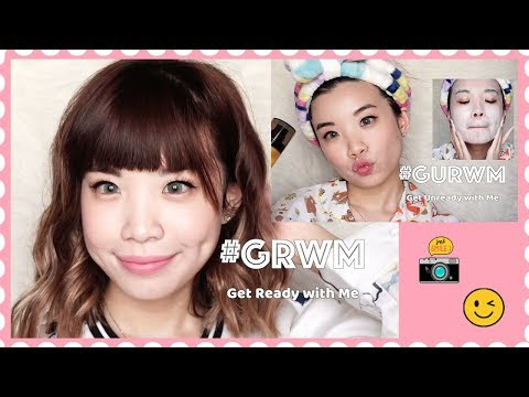 #GRWM & #GURWM by Stevie ft. Rebom Cosmetics