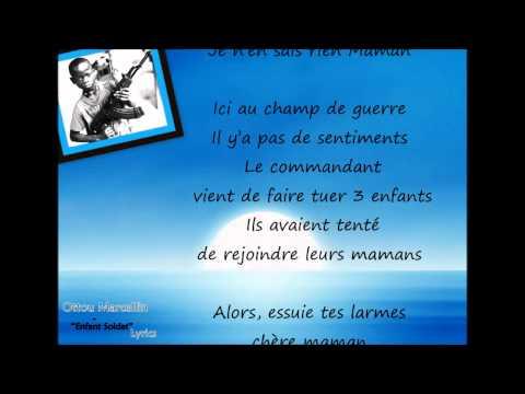 OTTOU MARCELLIN - Enfant Soldat [Paroles - Lyrics]
