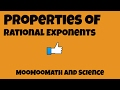 Properties of Rational Exponents-Product of Powers-Power of a Power-Power of a Product🤓