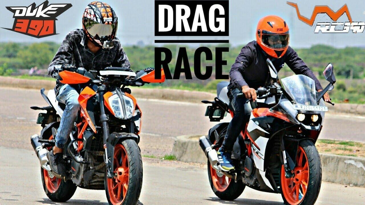 Ktm Rc Vs Duke Drag Race