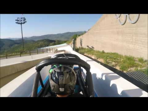 What It's Like To Ride A Bobsled
