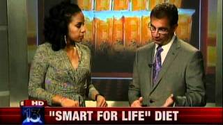 """""""Smart for Life"""" Diet - Cookie Weight Loss on Fox 13 Memphis"""