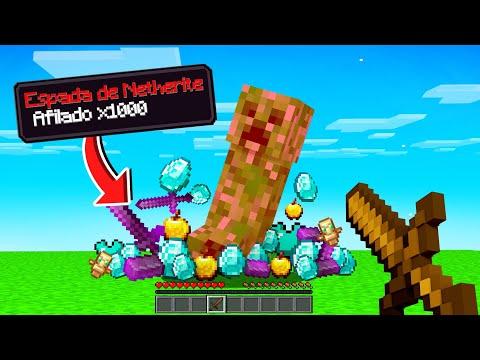 Paso MINECRAFT pero los MONSTRUOS Sueltan Loot OP 💎😱 Minecraft Reto Hardcore #1 - invictor