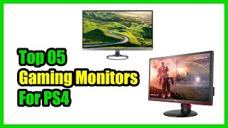 ▶️Best Gaming Monitor for PS4 2018