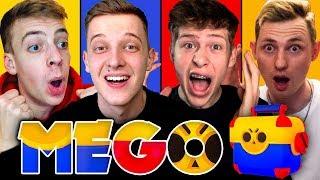 Wer hat die BESTE MEGA BOX? 🎁 | PUUKI vs CLASHGAMES vs MARVIN vs LUKAS | Brawl Stars MEGO #1