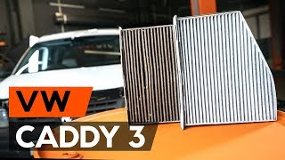 Entretien VW Caddy 3 - guide vidéo