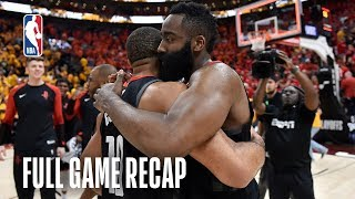 ROCKETS vs JAZZ | Defensive Showdown Goes Down to The Wire | Game 3