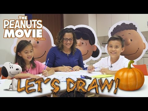 PEANUTS MOVIE CRAFTS at Charles M. Schulz Museum
