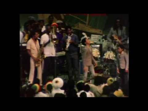 Stephen and Ziggy Marley dancing at Bob Marleys Funeral Celebration Rare Footage