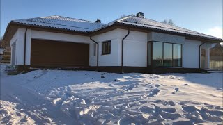 Строительство дома из газоблока с утеплением (2 сезон)