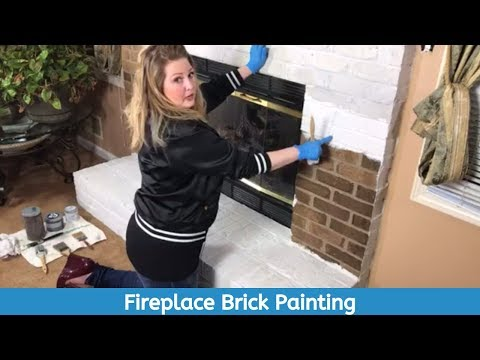 Got a brick fireplace? You gotta see this!