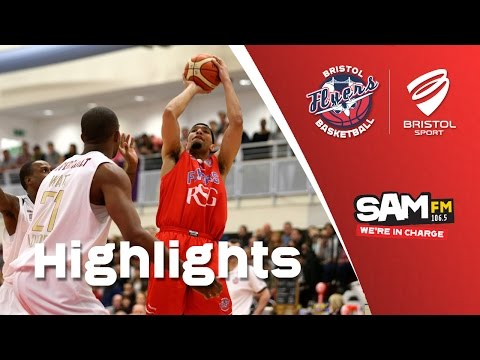HIGHILIGHTS: Bristol Flyers 65-78 London Lions