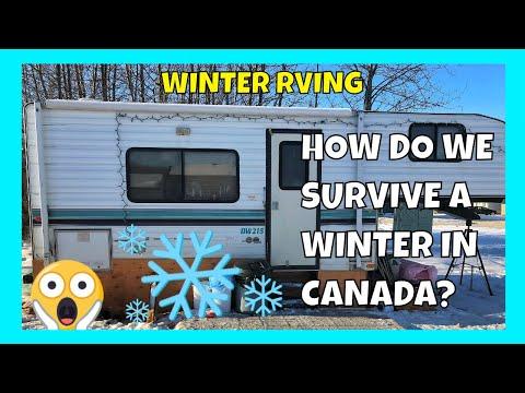 Full Time RV Living In Canada | RV In Winter? |The Zilinski Life