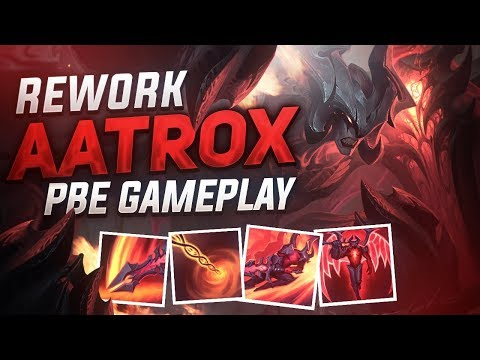 AATROX REWORK GAMEPLAY FR !