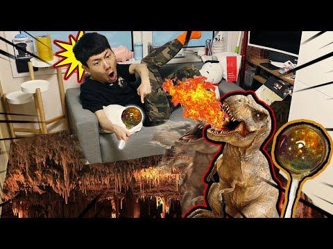 坤坤吃了土星棒棒糖,竟然穿越到了恐龍時代?| 伶可兄弟