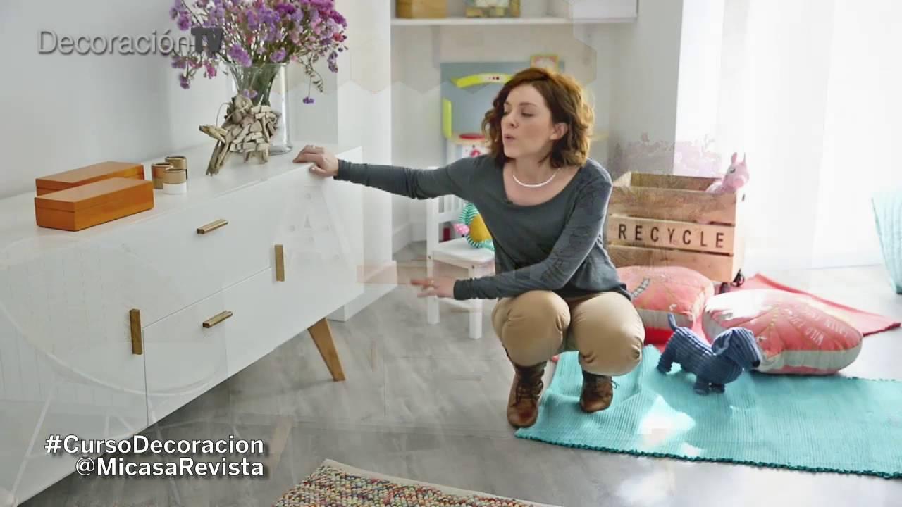 Como Decorar Un Salon Familiar Curso De Decoracion Micasa Youtube - Como-decorar-el-salon-de-mi-casa