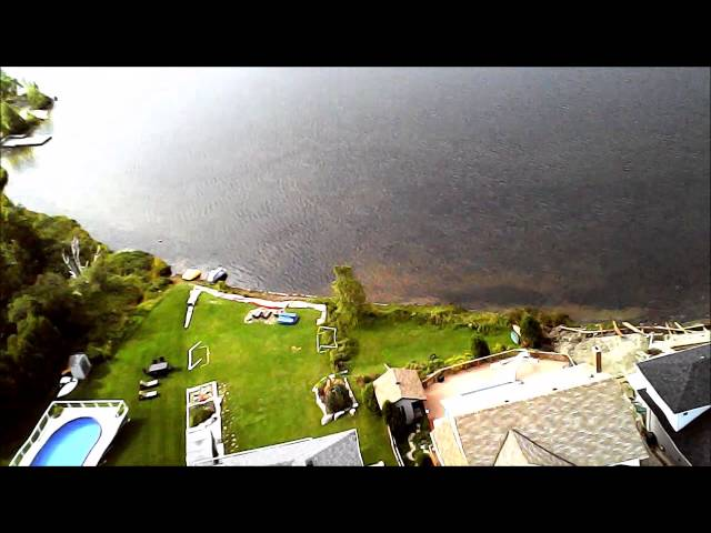 Drone of St Charles Lake
