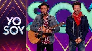 Mario y Diego Castillo cantaron