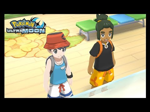 Pokemon Ultra Moon (No Outlines Patch) - Citra Emulator Canary Build 155 [1080p] - Nintendo 3DS - 동영상