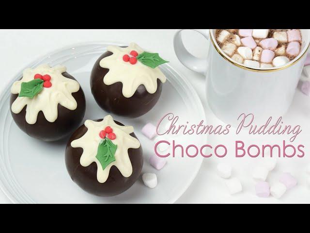 Christmas Hot Chocolate Bombs and Brownie Choco Bomb Tutorial