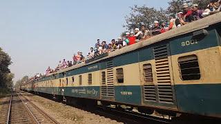 Overcrowded Bishawa Ijtema 2017 / Ijtema  Special Train Bangladesh