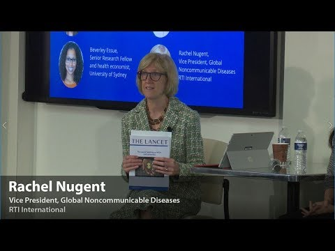 Panel Discussion: Examining the Economic and Financial Case for Tackling NCDs