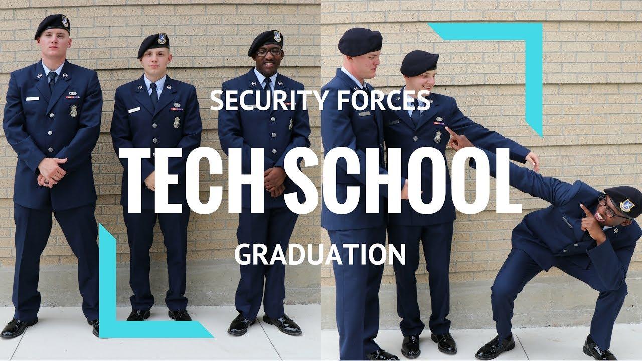 SECURITY FORCES TECH SCHOOL GRADUATION | LACKLAND AFB | TEAM 021