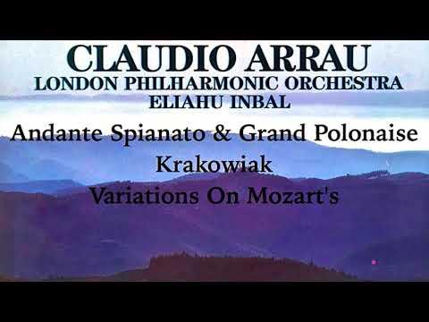 Chopin - Andante Spianato and Grande Polonaise Brillante.. (reference recording : Claudio Arrau)