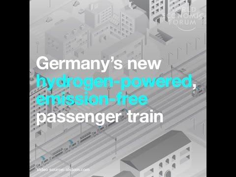 Germany's new hydrogen powered, emission free passenger train