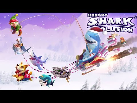 Christmas! Are you excited?    Hungry Shark Evolution [FHD-1080p]
