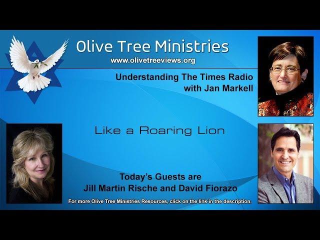 Like a Roaring Lion – Jill Martin Rische and David Fiorazo