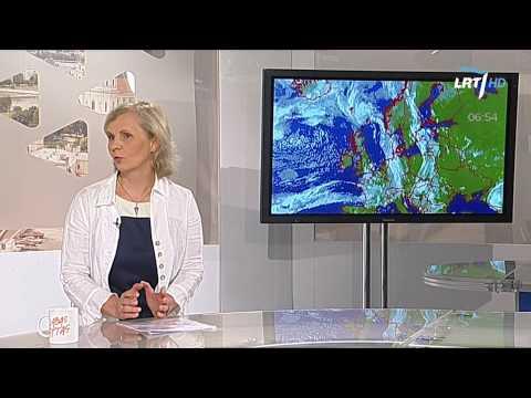 Ar kaitra toliau laikysis Lietuvoje? Artimiausių dienų orai (pokalbis studijoje) 2014 08 07 HD
