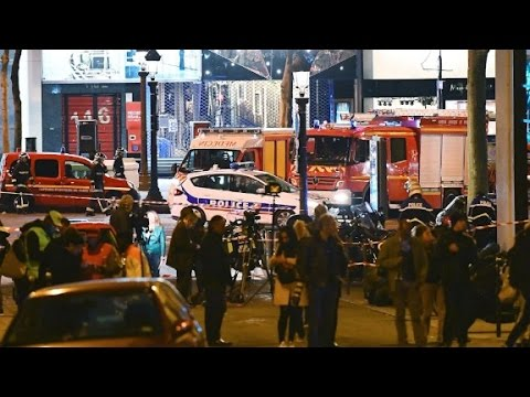 Terror attack rocks Paris ahead of presidential election