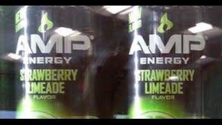 Amp Energy Strawberry Limeade