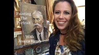 Painting the Portrait with Jessica Henry