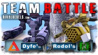 Minecraft Robot War Games - Team Battle