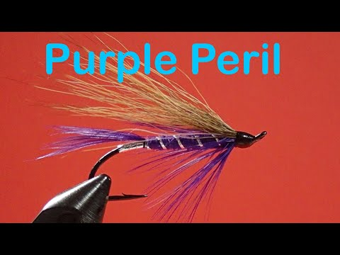 Beginner's Fly Tying  Series: Classic Steelhead Flies: The Purple Peril