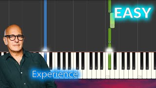 Ludovico Einaudi - Experience EASY Piano Tutorial