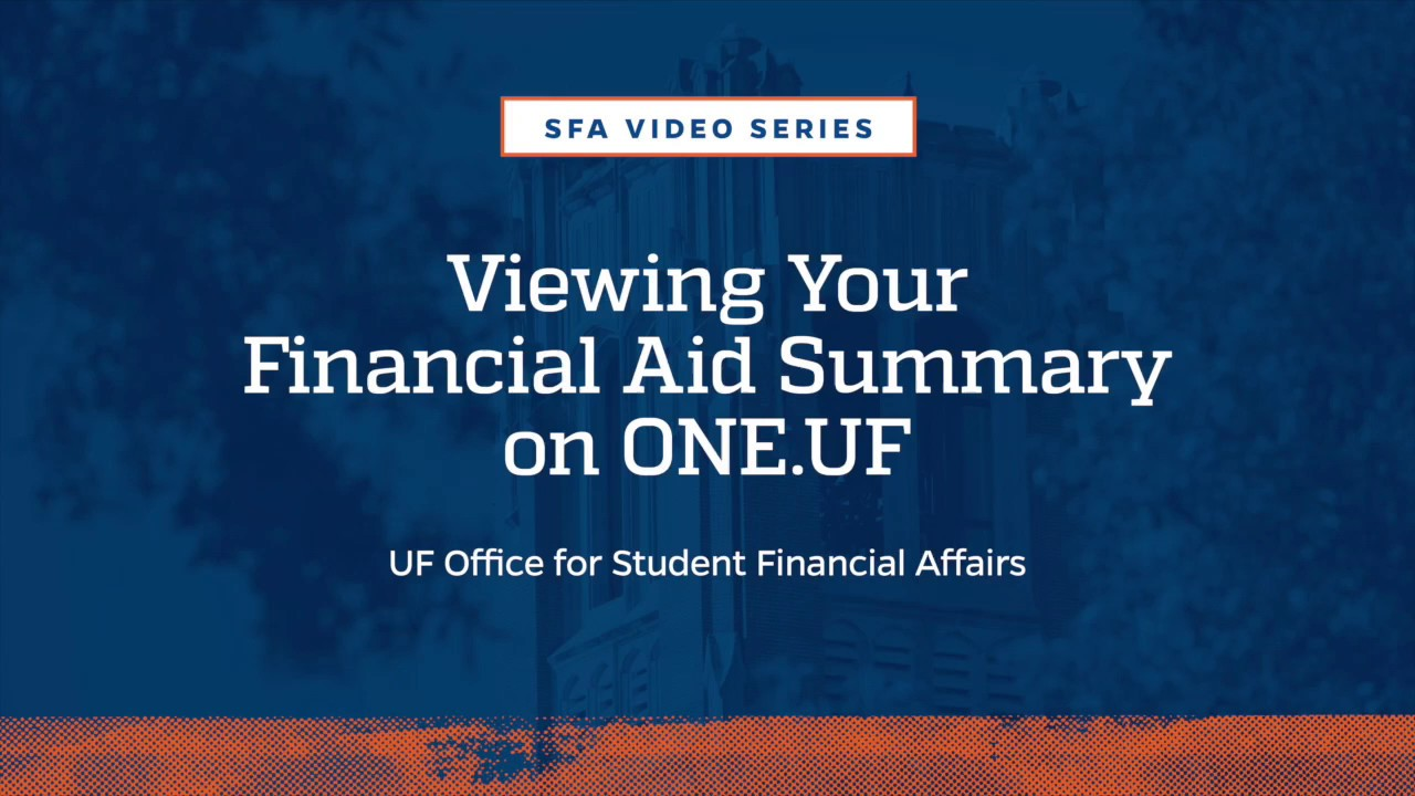 Aasu Calendar Uf.Videos Uf Office For Student Financial Affairs