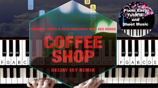 Coffee Shop Piano Easy Tutorial - Sunnery James & Ryan Marciano feat. Kes Kross